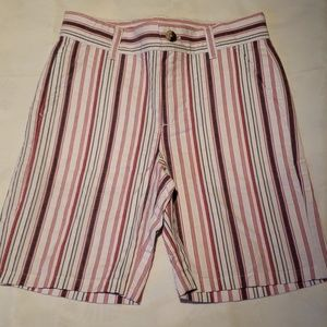 NWOT - Boys Red, White & Blue Striped Shorts
